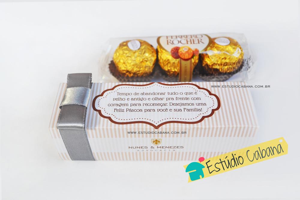 Caixa Ferrero Rocher Personalizada