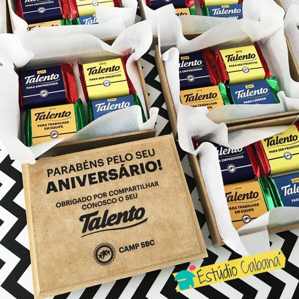 Caixa Talento Flat 1