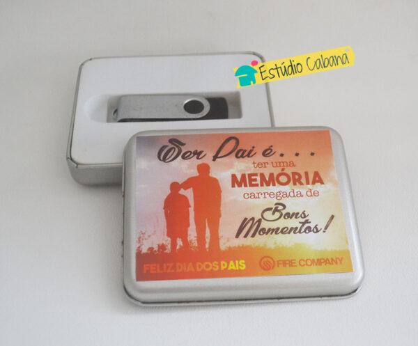 Lata Memórias Dia dos Pais 1