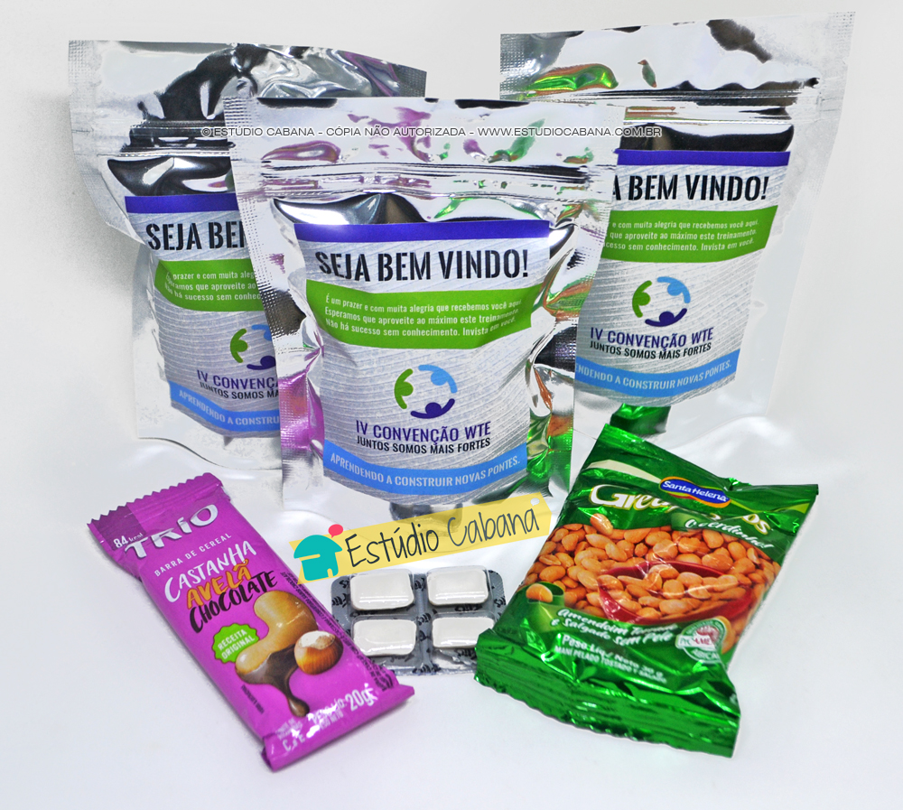 Welcome Bag - Kit Boas Vindas