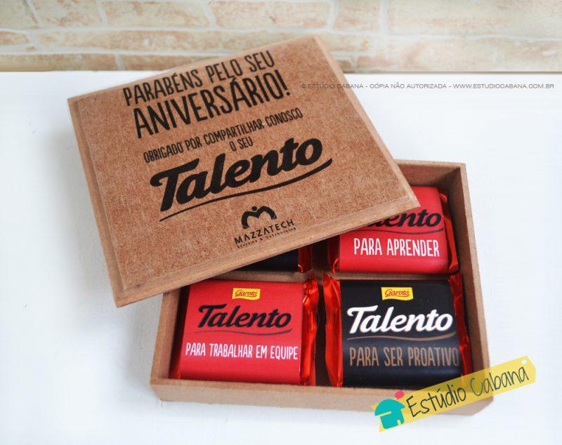 Caixa Talento Flat