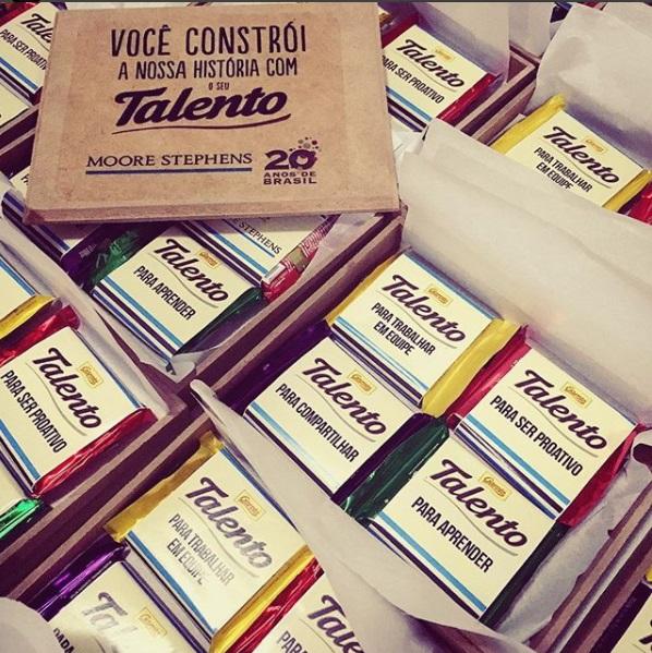 Caixa Talento Flat 3