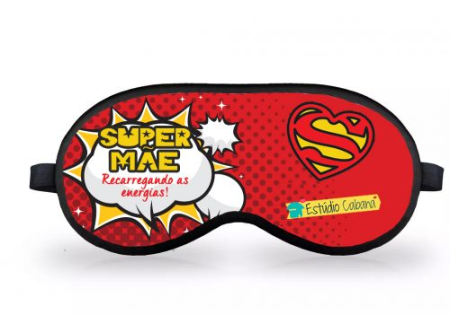 Máscara Super Mãe 1