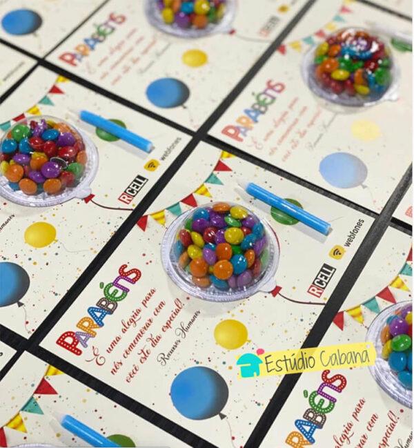 Cartão Alegria Brinde Aniversário do Funcionário RCell cópia