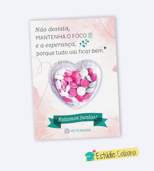 CARTÃO CORAÇÃO ESTAMOS JUNTOS